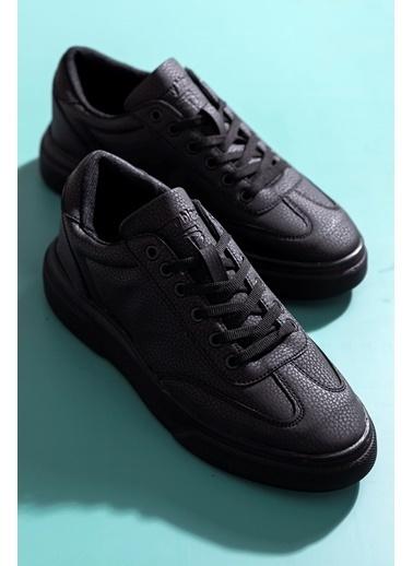 Tonny Black Siyah Unısex Spor Ayakkabı Tb278 Siyah